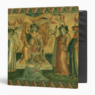 "Las siete humanidades, c.1435 carpeta 1 1/2"""