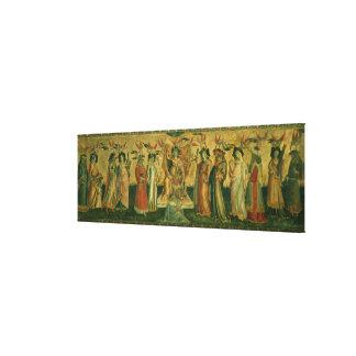 Las siete humanidades, c.1435 impresion en lona