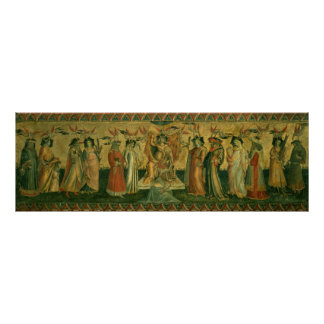 Las siete humanidades, c.1435 poster