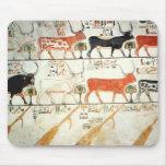 Las siete vacas celestiales y el toro sagrado alfombrillas de raton