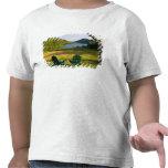 Las sillas de Adirondack en el césped de la Camisetas
