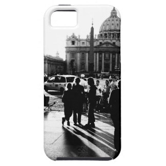 las siluetas de la gente iPhone 5 carcasas