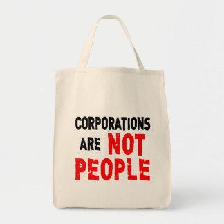 Las sociedades no son camiseta de la protesta de l bolsas de mano