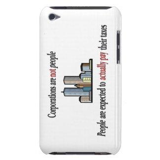 Las sociedades no son caso del tacto de iPod de la iPod Case-Mate Protector