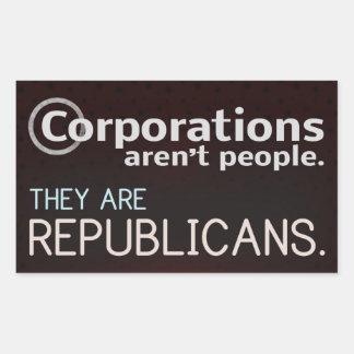 Las sociedades no son gente Son republicanos Rectangular Altavoces