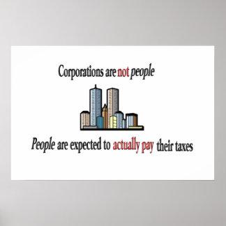 Las sociedades no son poster de la gente