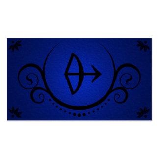 las sofisticaciones del archer tarjeta de negocio