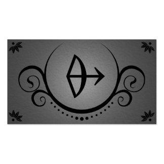 las sofisticaciones del archer tarjeta de visita