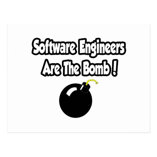 ¡Las Software Engineers son la bomba! Postal