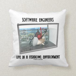 Las Software Engineers viven en un ambiente de Fis Cojines