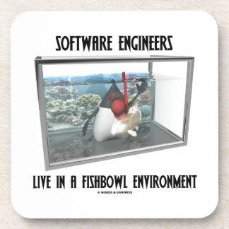 Las Software Engineers viven en un ambiente de Fis Posavasos De Bebida