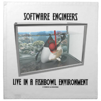 Las Software Engineers viven en un ambiente de Fis Servilleta De Papel