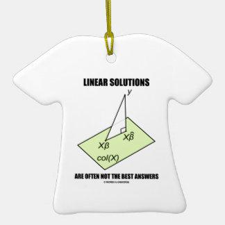 Las soluciones lineares no son a menudo las mejore ornamentos de navidad