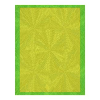 Las sombras del verde - añada su imagen de las plantillas de membrete