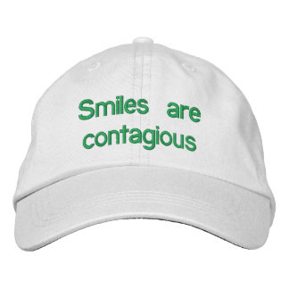 Las sonrisas son contagiosas - gorra