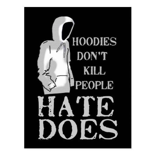 Las sudaderas con capucha no matan a la gente, tarjetas postales