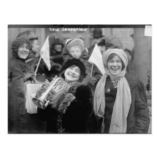 Las sufragistas subió Sanderman y a Elizabeth Free Postales
