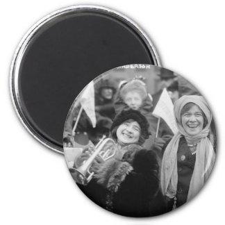 Las sufragistas subió Sanderman y a Elizabeth Imán Redondo 5 Cm