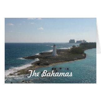 Las tarjetas de felicitación de Bahamas