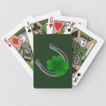 Las tarjetas de St Patrick afortunado del encanto  Barajas De Cartas
