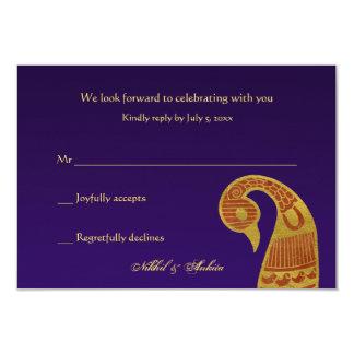 """Las tarjetas de SwanWedding Respone Invitación 3.5"""" X 5"""""""