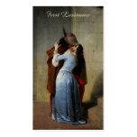 Las tarjetas de visita de encargo del beso/IL Baci