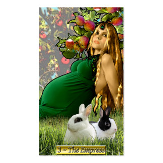 Las tarjetas de visita de la emperatriz de Banx