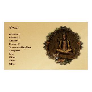 Las tarjetas de visita del adivino