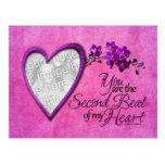 Las tarjetas del día de San Valentín - 2do golpe Postal