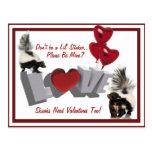 Las tarjetas del día de San Valentín de la Postal