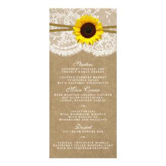 Las tarjetas del menú de la colección de Kraft, Lona