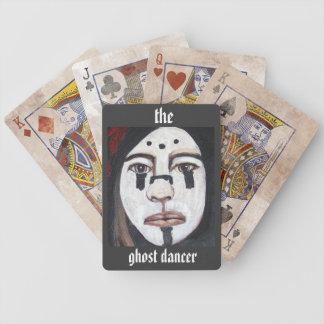 Las tarjetas del póker del bailarín del fantasma baraja de cartas