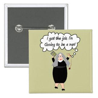 Las tarjetas divertidas de la monja consiguieron pin