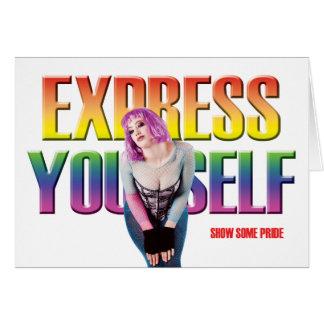 Las tarjetas gay - muestre un cierto orgullo