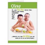 Las tarjetas gay - no pueden cocinar