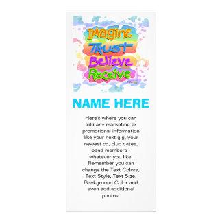 Las tarjetas promocionales del estante - CREA el a Tarjetas Publicitarias