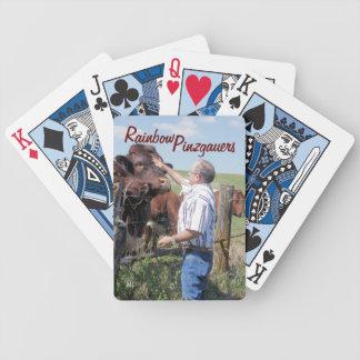 Las tarjetas que juegan de Capitán-Pinzgauer Bull  Barajas