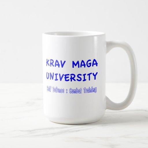 Las tazas de la universidad de Krav Maga del mundo