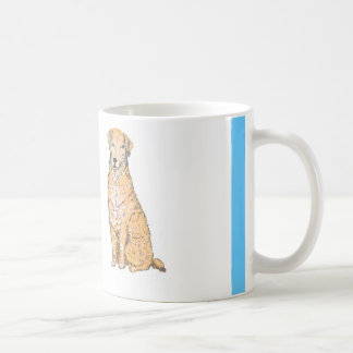 Las tazas de oro de Labrador, personalizar, añaden