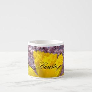 Las tazas del expresso de Barista personalizan las Taza Espresso