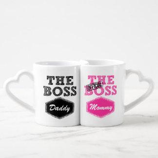 Las tazas del par de Boss Tazas Para Parejas
