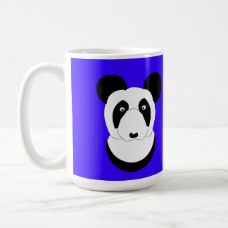 Las tazas gruñonas de la panda añaden el texto/el