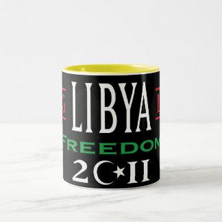 Las tazas libres de Libia viven de largo la libert