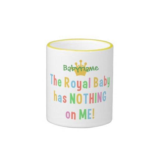 Las tazas reales del bebé - elija el estilo y el