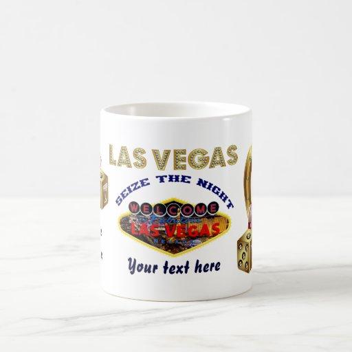 Las tazas Vegas todo diseñan todas las indirectas