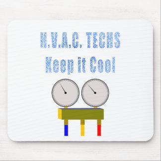 Las tecnologías de la HVAC lo guardan Cool.png Mouse Pads