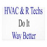 Las tecnologías de la HVAC R lo hacen manera mejor Invitacion Personalizada
