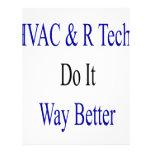 Las tecnologías de la HVAC R lo hacen manera mejor Plantilla De Membrete