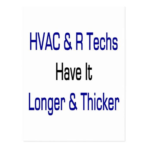 Las tecnologías de la HVAC R lo tienen más de Postal