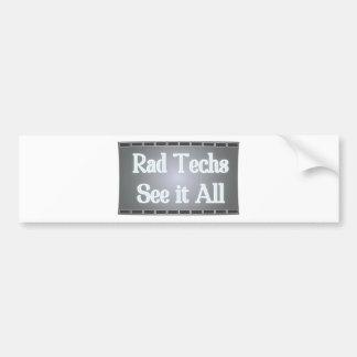 Las tecnologías del Rad lo consideran todo (la pel Pegatina Para Auto